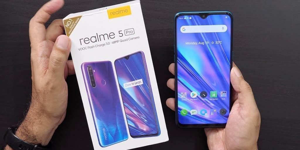 سعر و مواصفات ريلمي 5 برو Realme 5 Pro – موبايل متوسط بكاميرا 48MP ويدعم الشحن السريع !