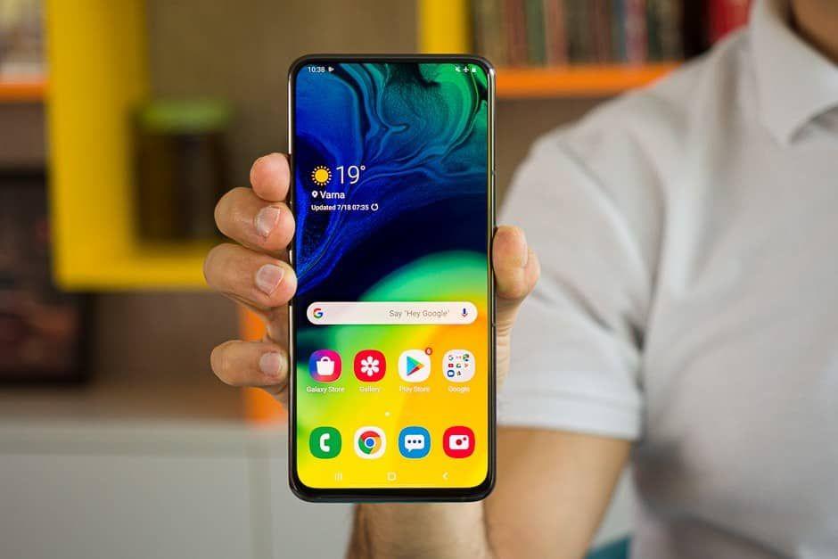 سعر ومواصفات Samsung Galaxy A80 سامسونج A80 وسعره اليوم | أغرب موبايل من سامسونج !!