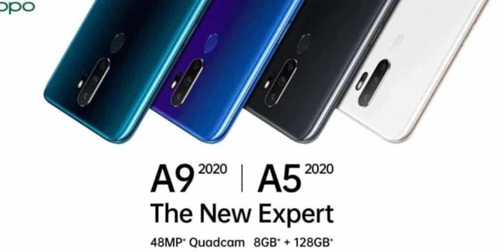 سعر و مواصفات Oppo A9 2020 و oppo A5 2020