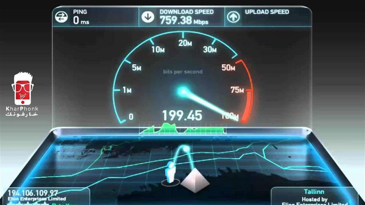 شرح أفضل موقع لقياس سرعة النت الحقيقية بالميجا – اختبار سرعة الانترنت
