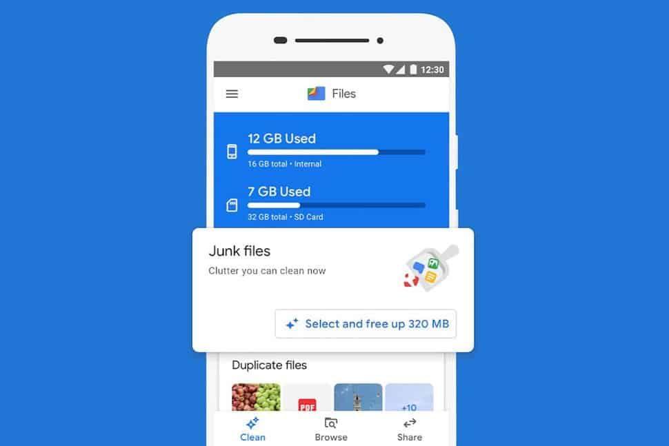 تطبيق Google Files