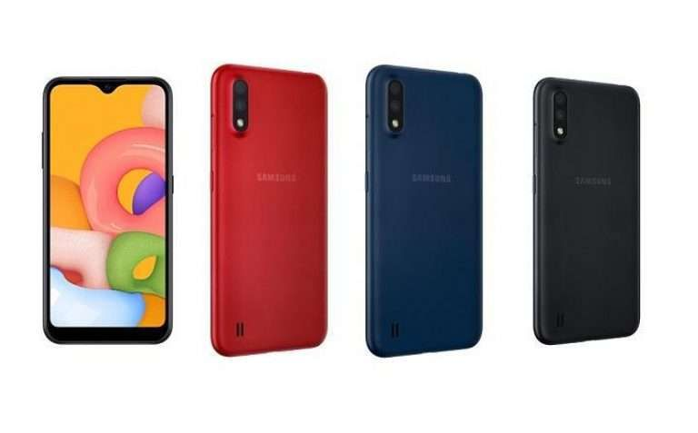 مواصفات و سعر Samsung A01