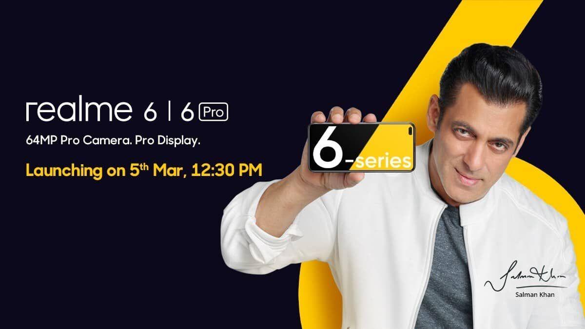 موعد نزول ريلمي 6 مصر و Realme 6 Pro