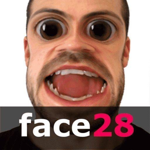 تطبيق تغيير الوجه face 28
