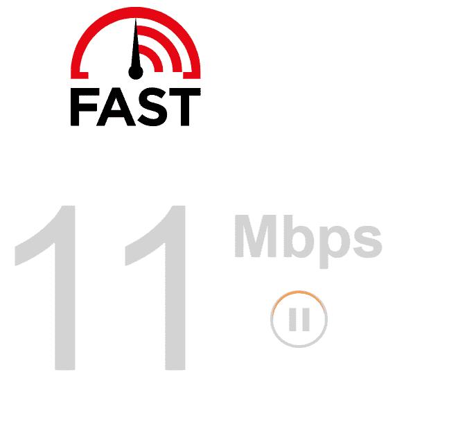 موقع fast.com لـ قياس سرعة النت الحقيقية بالميجا
