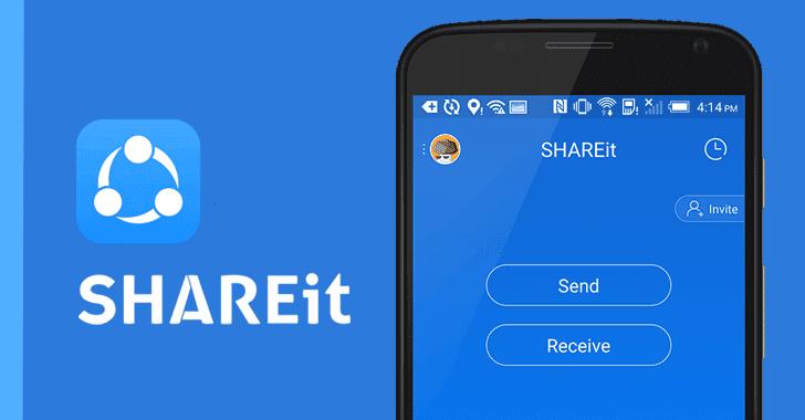 تنزيل وتحميل برنامج شيرت shareit للكمبيوتر والاندرويد والايفون