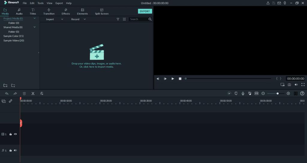برنامج Filmora للكمبيوتر