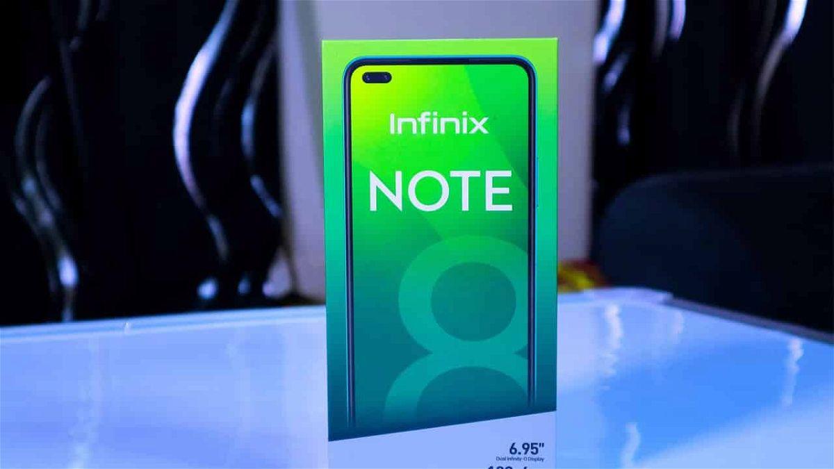 infinix note 8 سعر ومواصفات انفنكس نوت 8 صاحب اكبر شاشة في الفئة السعرية