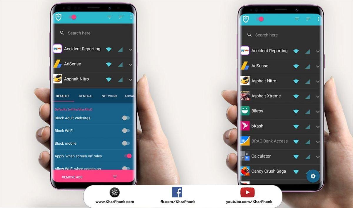 تطبيق InternetGuard للتحكم في الوصول إلى الإنترنت على جهاز Android الخاص بك