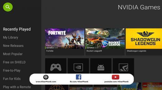 تحميل محاكي nvidia games