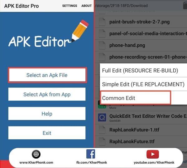 حل مشكلة التطبيق ليس مثبتا بإستعمال apk Editor