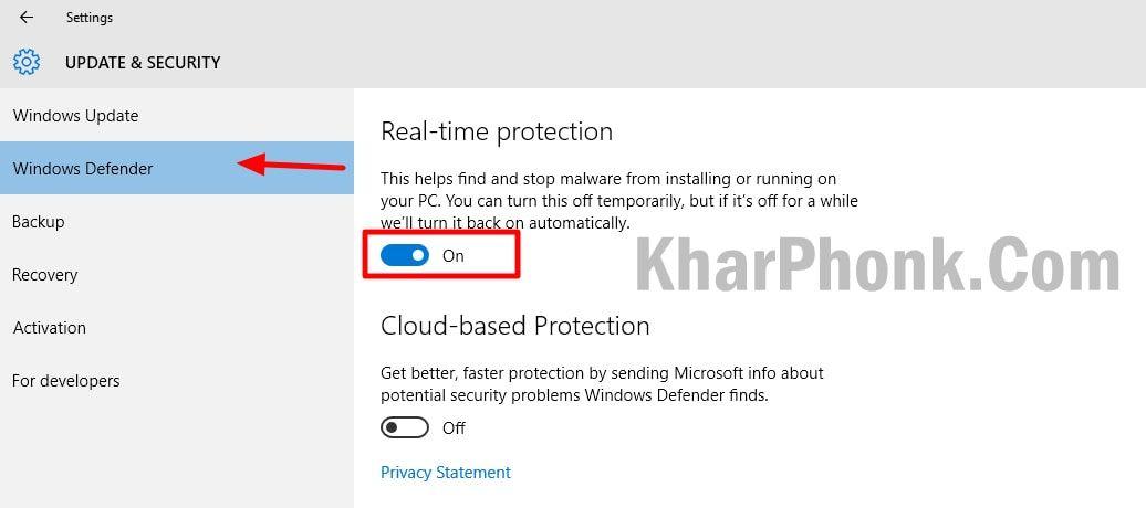 تعطيل جدار الحماية ومكافحة الفيروسات لحل مشكلة بعض المواقع لا تفتح في جوجل كروم