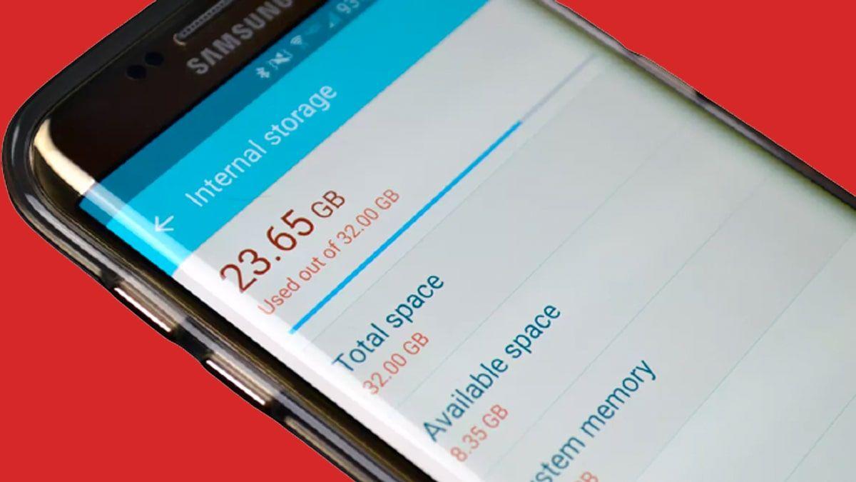 شرح كيفية إخلاء مساحة في الهاتف سامسونج 2021